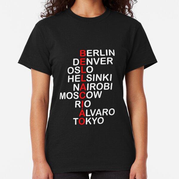 Bella Ciao, La Casa De Papel Classic T-Shirt