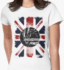 God Save the Alien Queen Women's Fitted T-Shirt