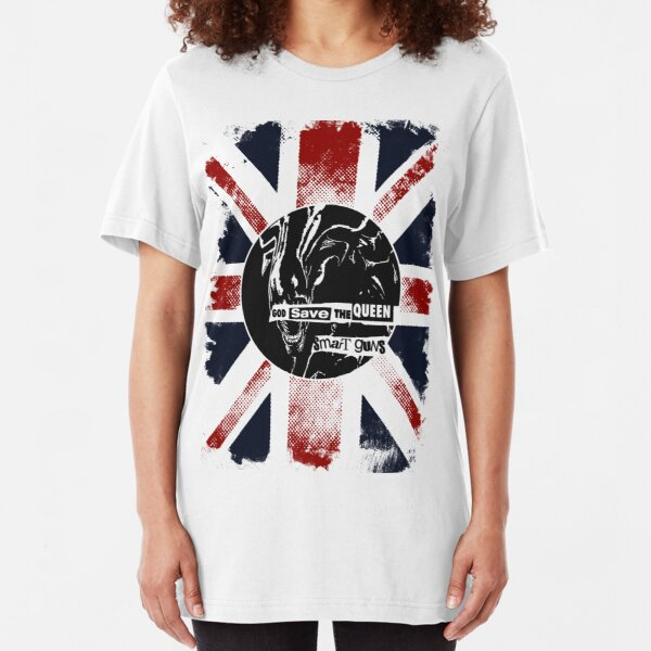 God Save the Alien Queen Slim Fit T-Shirt