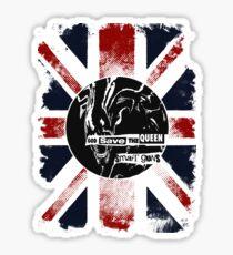 God Save the Alien Queen Sticker