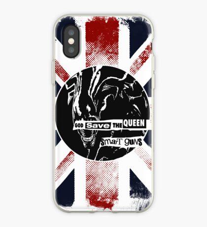 God Save the Alien Queen iPhone Case