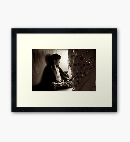 Little Lady Framed Print