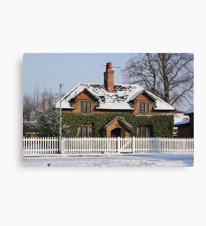 Woodbine Cottage Wiseton Canvas Print