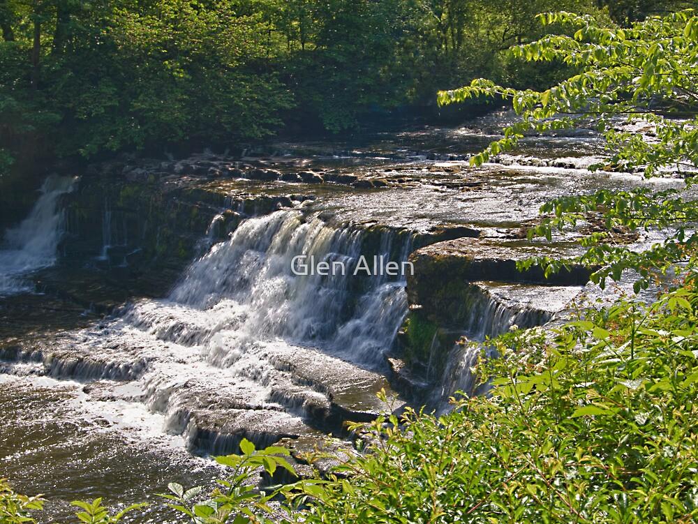 Aysgarth Falls - Yorkshire Dales by Glen Allen