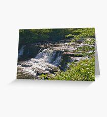 Aysgarth Falls - Yorkshire Dales Greeting Card