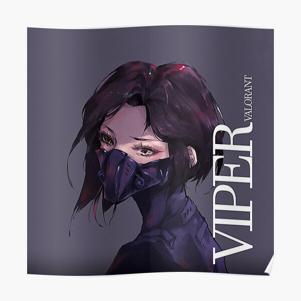 Valorant viper Poster