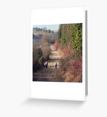 The Queen Elizabeth Country Park, Hampshire Greeting Card