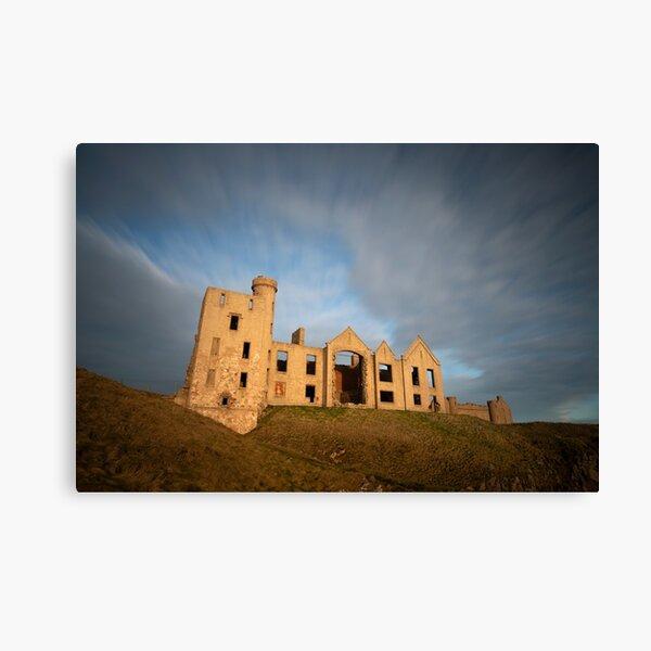 new slains castle Canvas Print