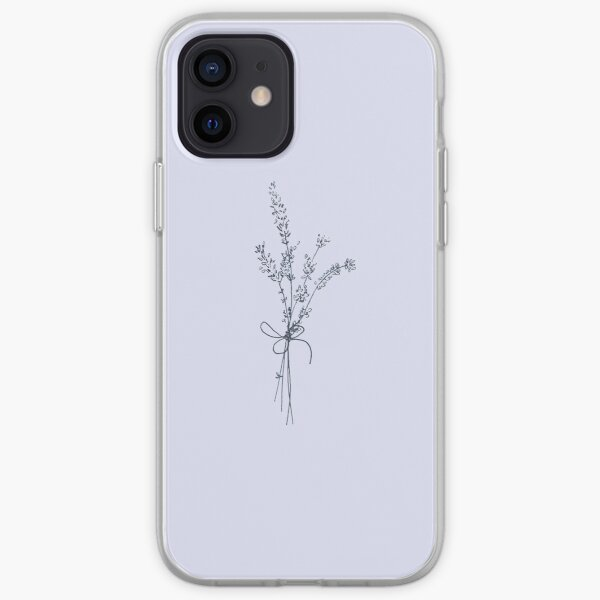 Lovely Lavender Bunch iPhone Soft Case