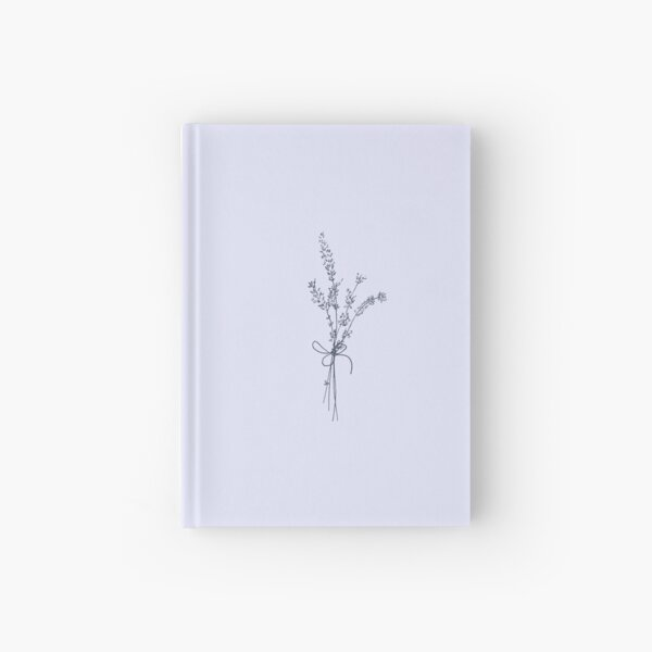 Lovely Lavender Bunch Hardcover Journal