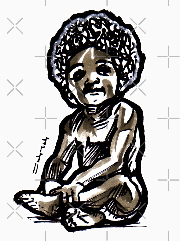 Baby with an afro by sketchNkustom