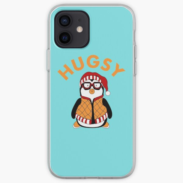 Hugsy penguin iPhone Soft Case