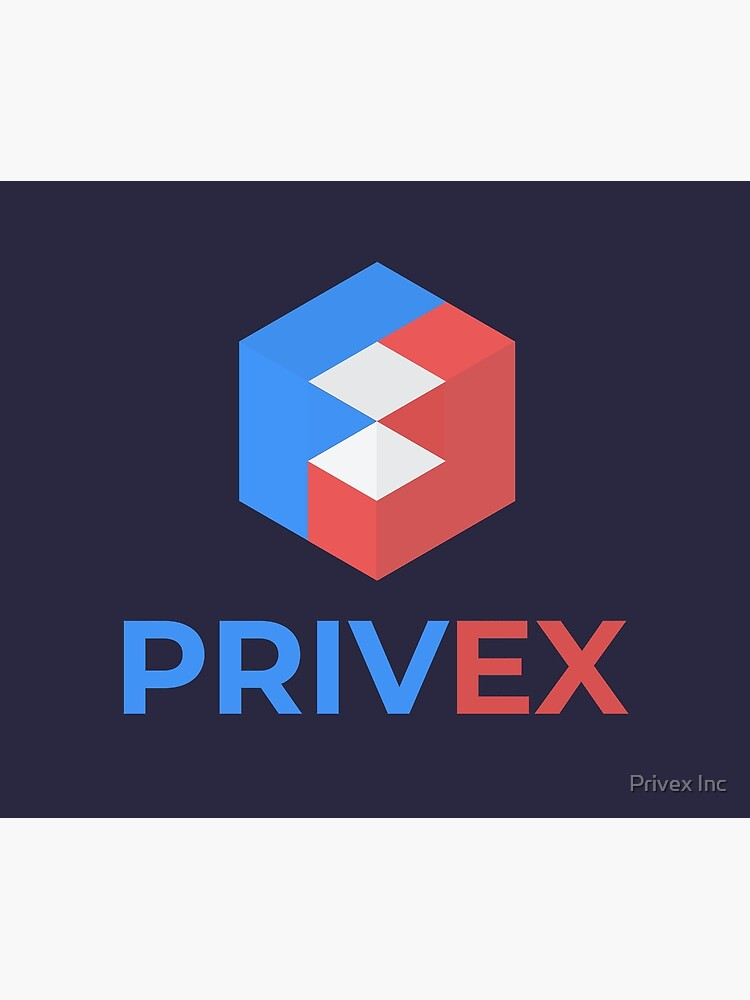 Privex Logo with Text by privex