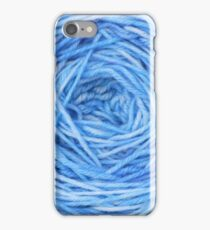 Blue Yarn iPhone Case/Skin