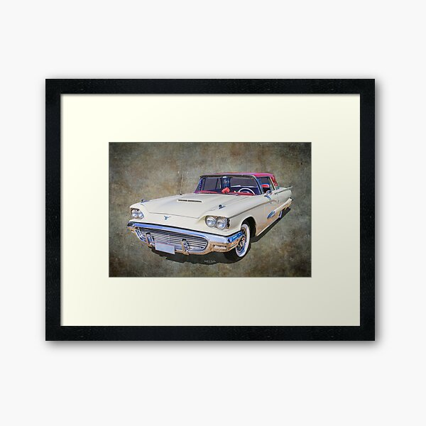 1959 Bird Framed Art Print