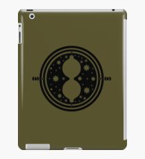 Time-Turner (Black) iPad Case/Skin