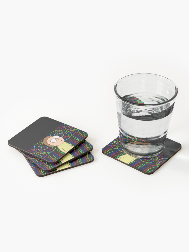 Alternate view of MORTY SMITH Coasters (Set of 4)