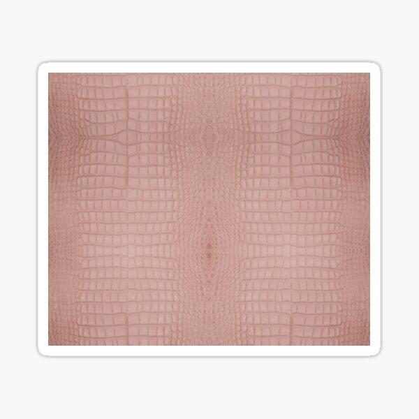 Pink Alligator Skin Sticker