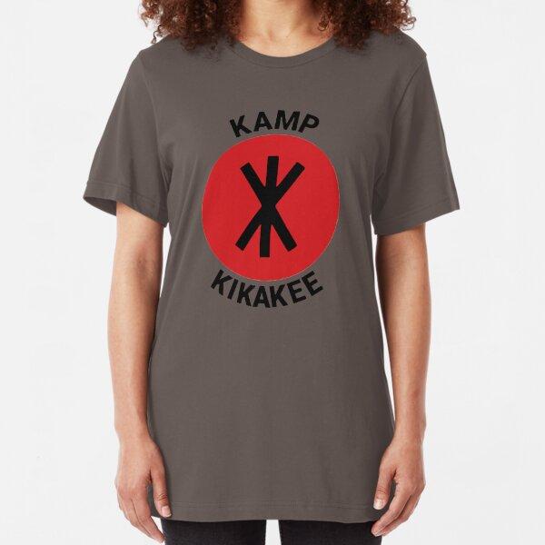 KAMP KIKAKEE Slim Fit T-Shirt