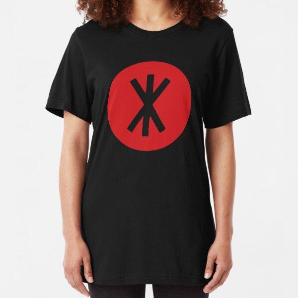 KAMP KIKAKEE !! Slim Fit T-Shirt