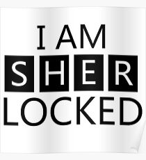 i am sher locked Poster
