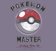 Pokemon Master since 1996