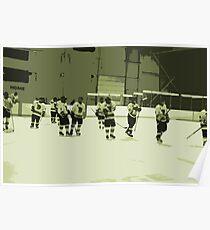 High School Hockey 101 Green - 2 Poster