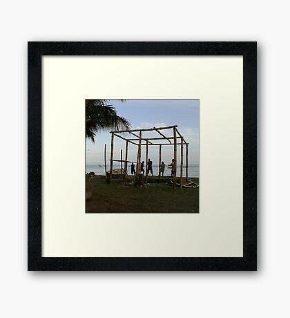 Take the Strain Framed Print