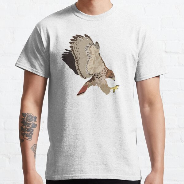 Red-Tailed Hawk in flight Classic T-Shirt