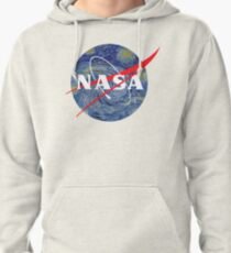 NASA starry night Pullover Hoodie
