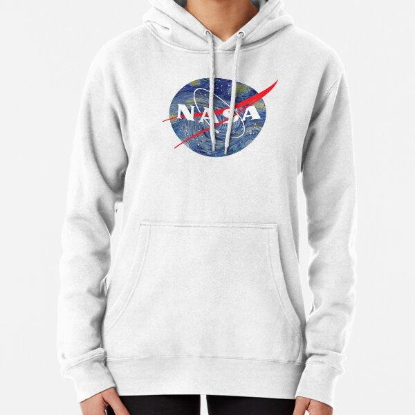NASA starry night Pullover Hoodie