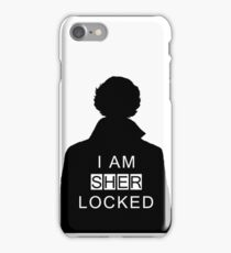 i am sher locked 2 iPhone Case/Skin