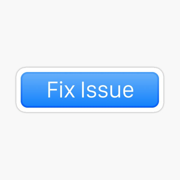 Fix issue Sticker