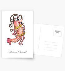 Shrimp Scimpi Postcards
