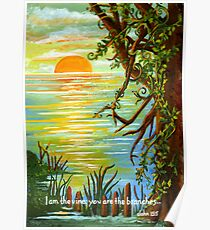Vine and Branches Poster