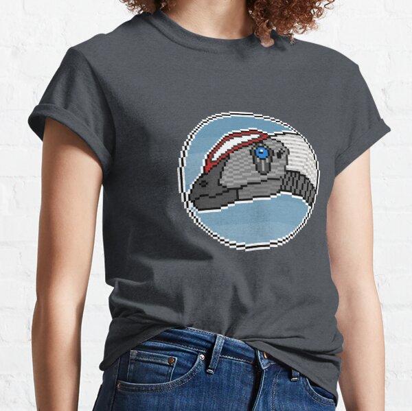 Pixel Dilophosaurus wetherilli Classic T-Shirt