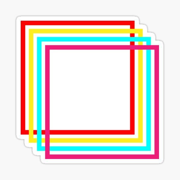 Retro Cube Sticker