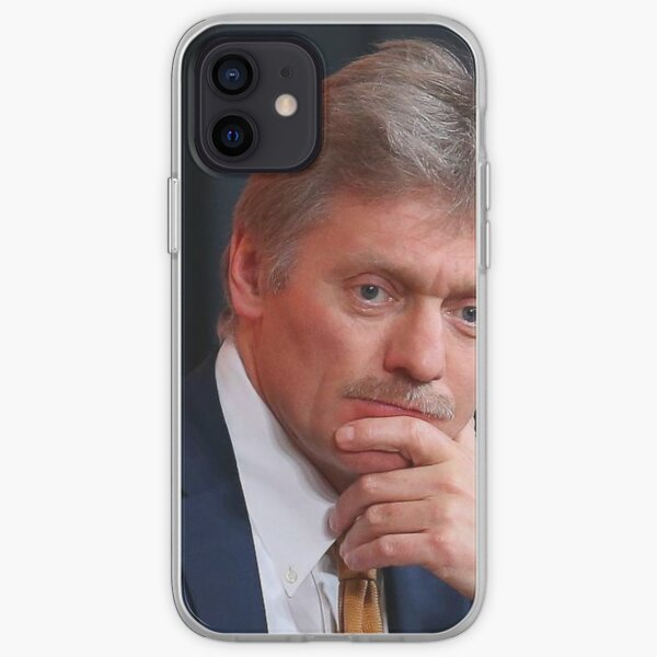 Dmitry Peskov, Kremlin Press Secretary iPhone Soft Case