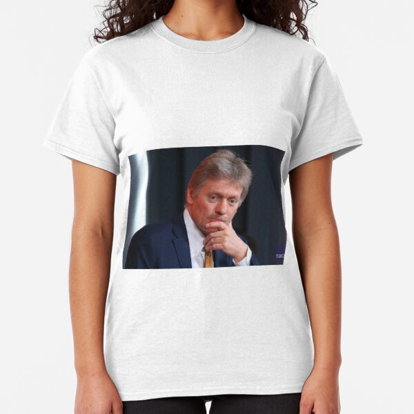 Dmitry Peskov, Kremlin Press Secretary Classic T-Shirt