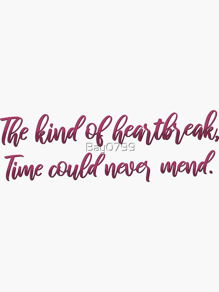 Heartbreak from Cornelia Street - Taylor Swift Design by Bay0799