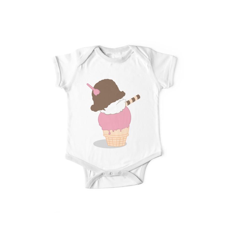Napoleon Ice Cream One Piece Short Sleeve By Brainbarf Redbubble