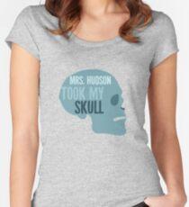 mrs. hudson took my skull Women's Fitted Scoop T-Shirt