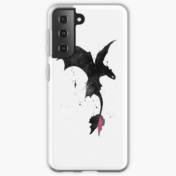 Splatter Toothless Dragon Samsung Galaxy Soft Case