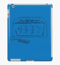 Retro Game Time Sketch iPad Case/Skin