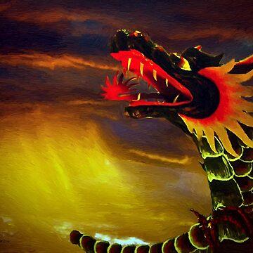 Dragon by artstoreroom