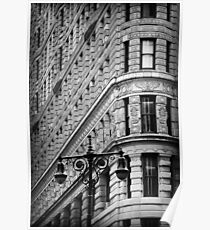 Flat Iron Building Poster