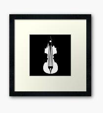sherlock violin big ben Framed Print