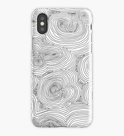 Doodle Call iPhone Case
