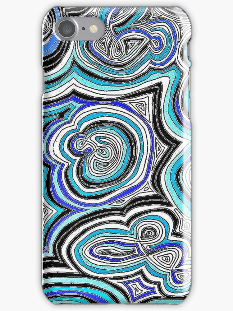 Blue Doodle Call by jlv-