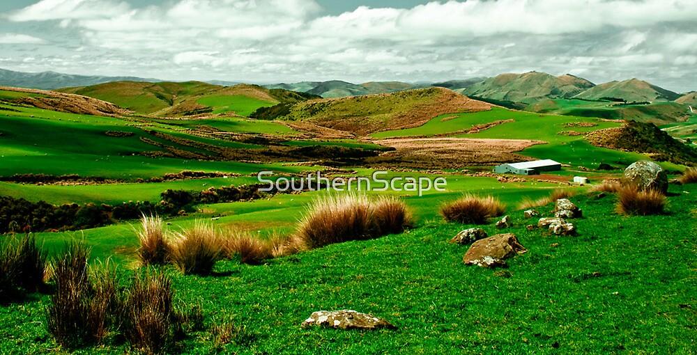 Hokonui hills Southland NZ by SouthernScape